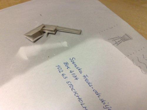 Rökmoln över origami