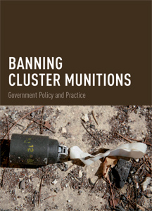 Banning Cluster Munitions
