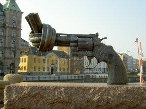 Pistol med knut
