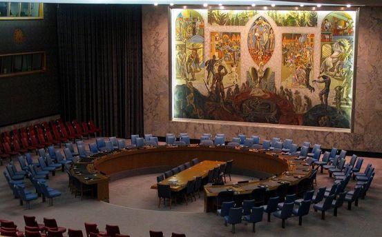 FN:s säkerhetsråd. Bild: Bernd Untiedt, januari 2005