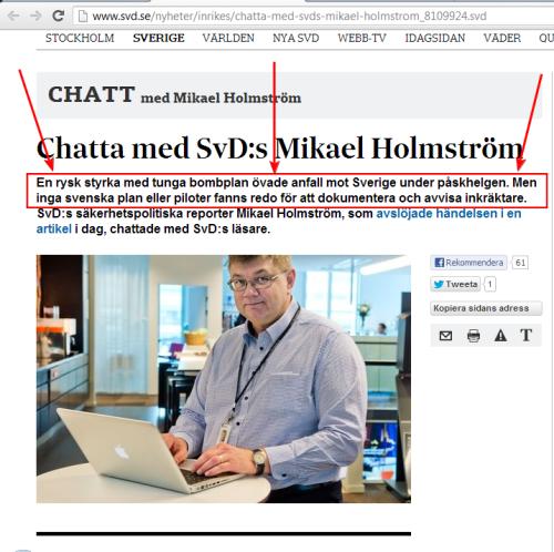 Ryssland har tränat sig på att anfalla Sverige. Ingen visste något.